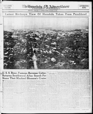 The Honolulu Advertiser from Honolulu, Hawaii on October 15, 1922 · 21