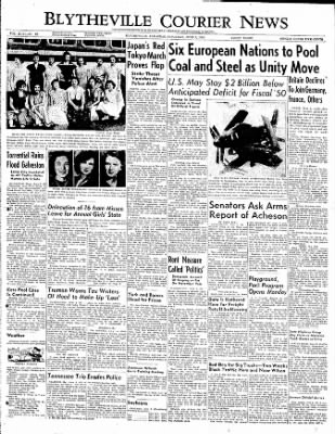 The Courier News from Blytheville, Arkansas on June 3, 1950 · Page 1