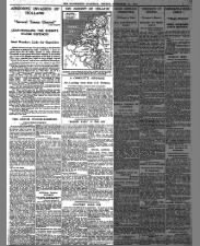 British newspaper articles about the first day of Operation Market Garden