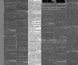 1945 newspaper summary of history of Germany's decision to attack Russia in Operation Barbarossa