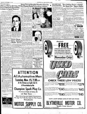 The Courier News from Blytheville, Arkansas on November 14, 1949 · Page 7