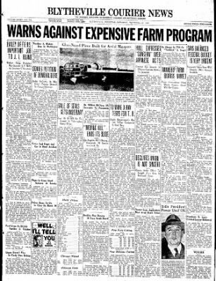 The Courier News from Blytheville, Arkansas on November 27, 1937 · Page 1