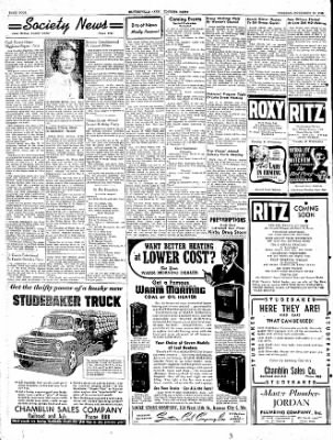 The Courier News from Blytheville, Arkansas on November 15, 1949 · Page 4