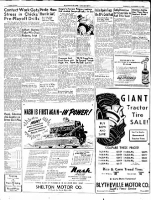 The Courier News from Blytheville, Arkansas on November 15, 1949 · Page 8