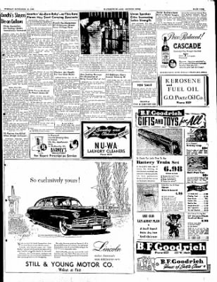 The Courier News from Blytheville, Arkansas on November 15, 1949 · Page 9