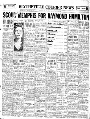 The Courier News from Blytheville, Arkansas on March 29, 1935 · Page 1