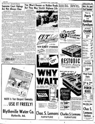 The Courier News from Blytheville, Arkansas on June 6, 1950 · Page 2