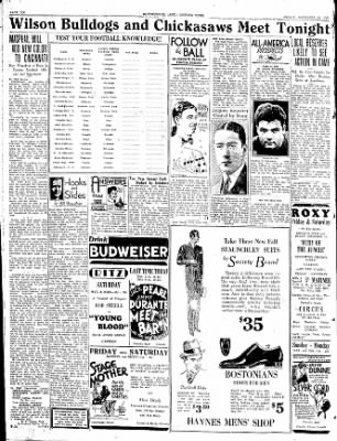 The Courier News from Blytheville, Arkansas on November 10, 1933 · Page 6