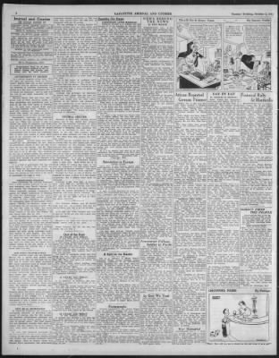 Journal and Courier from Lafayette, Indiana on October 3, 1944 · 6