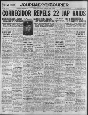Journal and Courier from Lafayette, Indiana on April 13, 1942 · 1