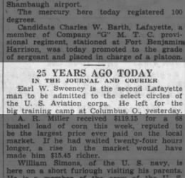 EWS - Aviation training - Journal and Courier (Lafayette, Indiana)15 Jul 1942, WedPage 6