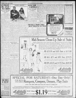 Journal and Courier from Lafayette, Indiana on May 12, 1921 · 3