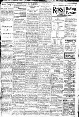 Logansport Pharos-Tribune from Logansport, Indiana on February 5, 1891 · Page 4