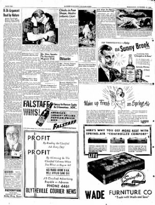 The Courier News from Blytheville, Arkansas on November 16, 1949 · Page 10