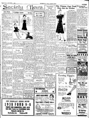 The Courier News from Blytheville, Arkansas on December 1, 1937 · Page 3