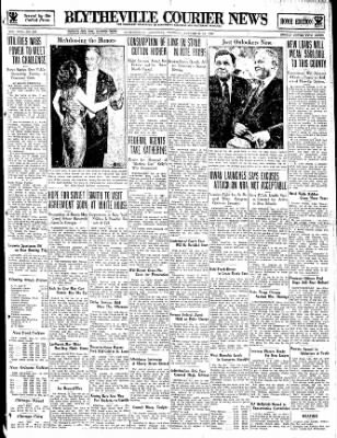 The Courier News from Blytheville, Arkansas on November 14, 1933 · Page 1