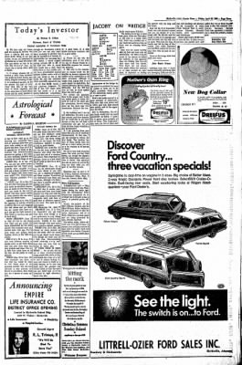 The Courier News from Blytheville, Arkansas on April 26, 1968 · Page 3