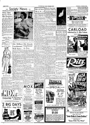 The Courier News from Blytheville, Arkansas on August 3, 1954 · Page 4