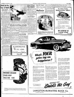 The Courier News from Blytheville, Arkansas on November 17, 1949 · Page 9