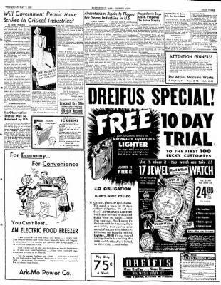 The Courier News from Blytheville, Arkansas on May 7, 1952 · Page 3