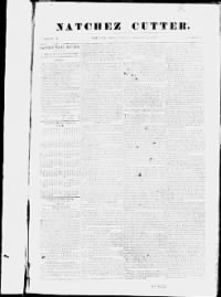 Sample Natchez Cutter front page
