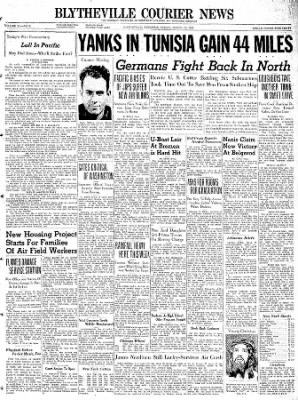 The Courier News from Blytheville, Arkansas on March 19, 1943 · Page 1