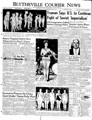 The Courier News from Blytheville, Arkansas on June 9, 1950 · Page 1