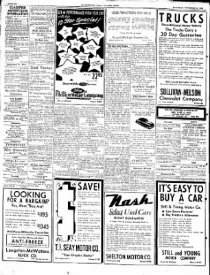 The Courier News from Blytheville, Arkansas on November 19, 1949 · Page 6