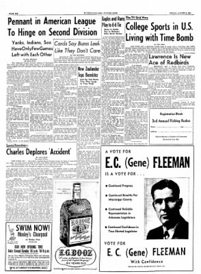 The Courier News from Blytheville, Arkansas on August 6, 1954 · Page 6