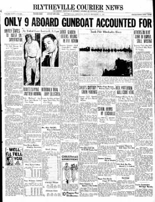 The Courier News from Blytheville, Arkansas on December 13, 1937 · Page 1