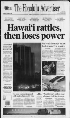 The Honolulu Advertiser from Honolulu, Hawaii on October 16, 2006 · 1