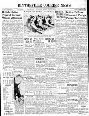 The Courier News from Blytheville, Arkansas on January 7, 1941 · Page 1