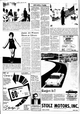 e1a319b0b32f The Daily News-Texan from Grand Prairie, Texas on April 25, 1961 · Page 2