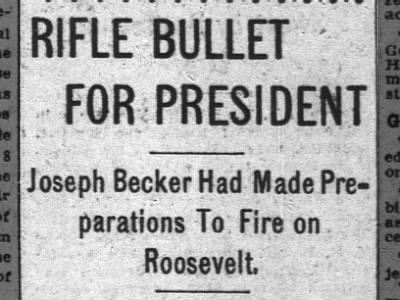 Clip of the Day: Teddy Roosevelt Narrowly Misses Assassination?