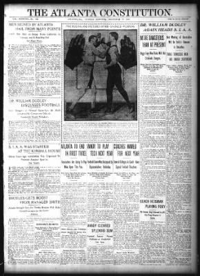The Atlanta Constitution from Atlanta, Georgia on December 17, 1905 · Page 1