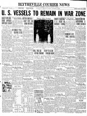 The Courier News from Blytheville, Arkansas on December 14, 1937 · Page 1