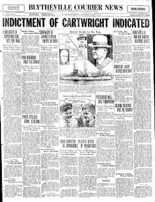 The Courier News from Blytheville, Arkansas on March 18, 1931 · Page 1