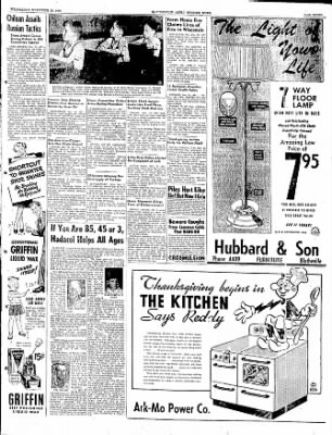 The Courier News from Blytheville, Arkansas on November 23, 1949 · Page 7