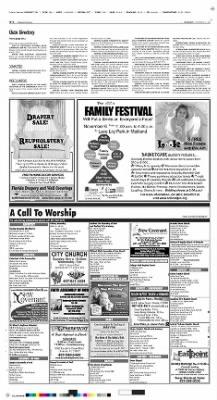 The Orlando Sentinel from Orlando, Florida on November 3, 2005 · H16