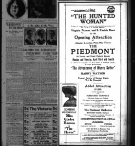 Piedmont theater opening