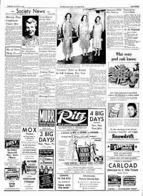 The Courier News from Blytheville, Arkansas on August 10, 1954 · Page 3