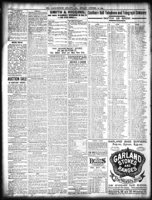 The Atlanta Constitution from Atlanta, Georgia on October 23, 1898 · Page 10