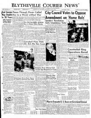 The Courier News from Blytheville, Arkansas on June 14, 1950 · Page 1