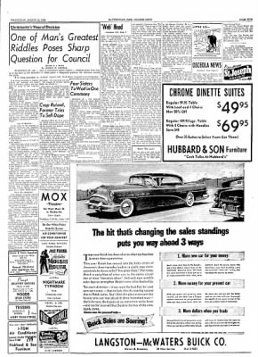 The Courier News from Blytheville, Arkansas on August 11, 1954 · Page 5