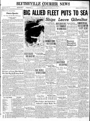 The Courier News from Blytheville, Arkansas on April 6, 1943 · Page 1