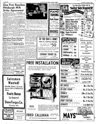 The Courier News from Blytheville, Arkansas on June 15, 1950 · Page 6