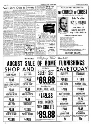 The Courier News from Blytheville, Arkansas on August 12, 1954 · Page 2