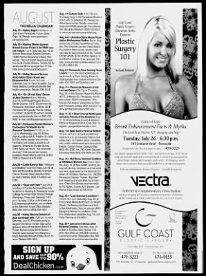 Pensacola News Journal From Pensacola Florida On August 1 2011 37