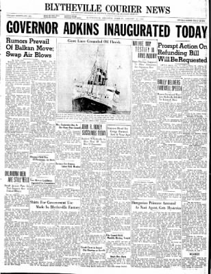 The Courier News from Blytheville, Arkansas on January 14, 1941 · Page 1