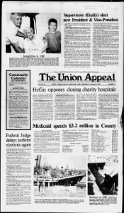 Sample The Union Appeal front page